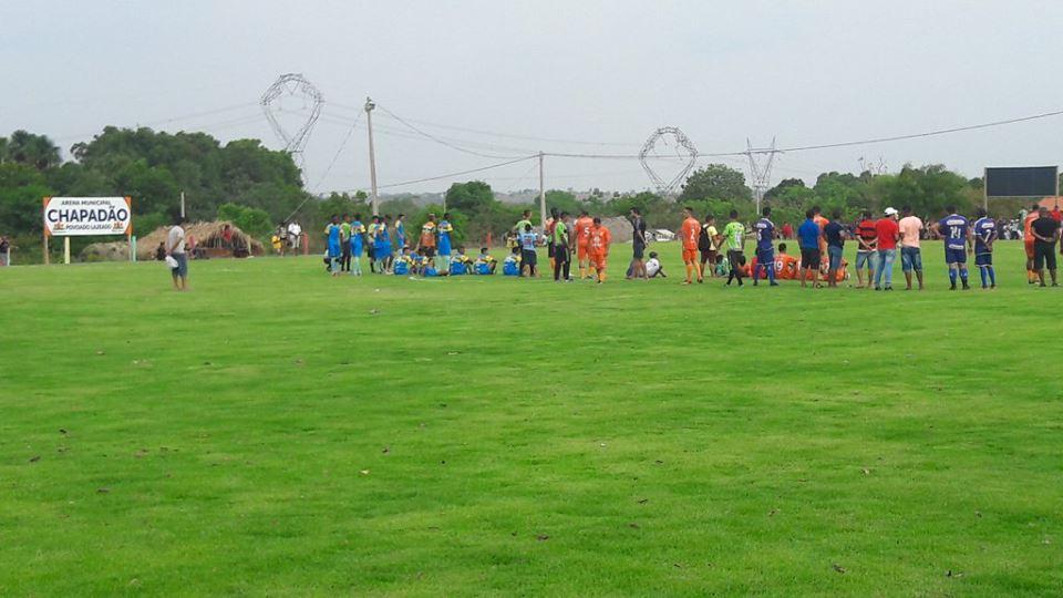 Inaugurado o gramado da Arena Chapadão em Lajeado Velho