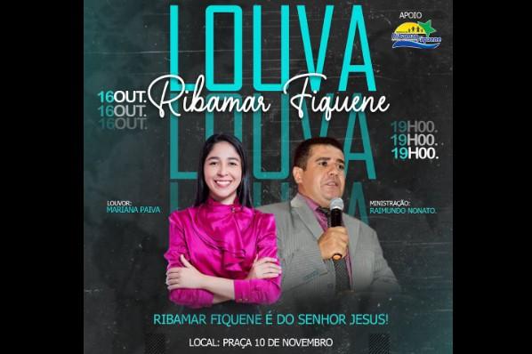 Prefeitura apoia celebração do Dia do Evangélico no II Louva Ribamar Fiquene