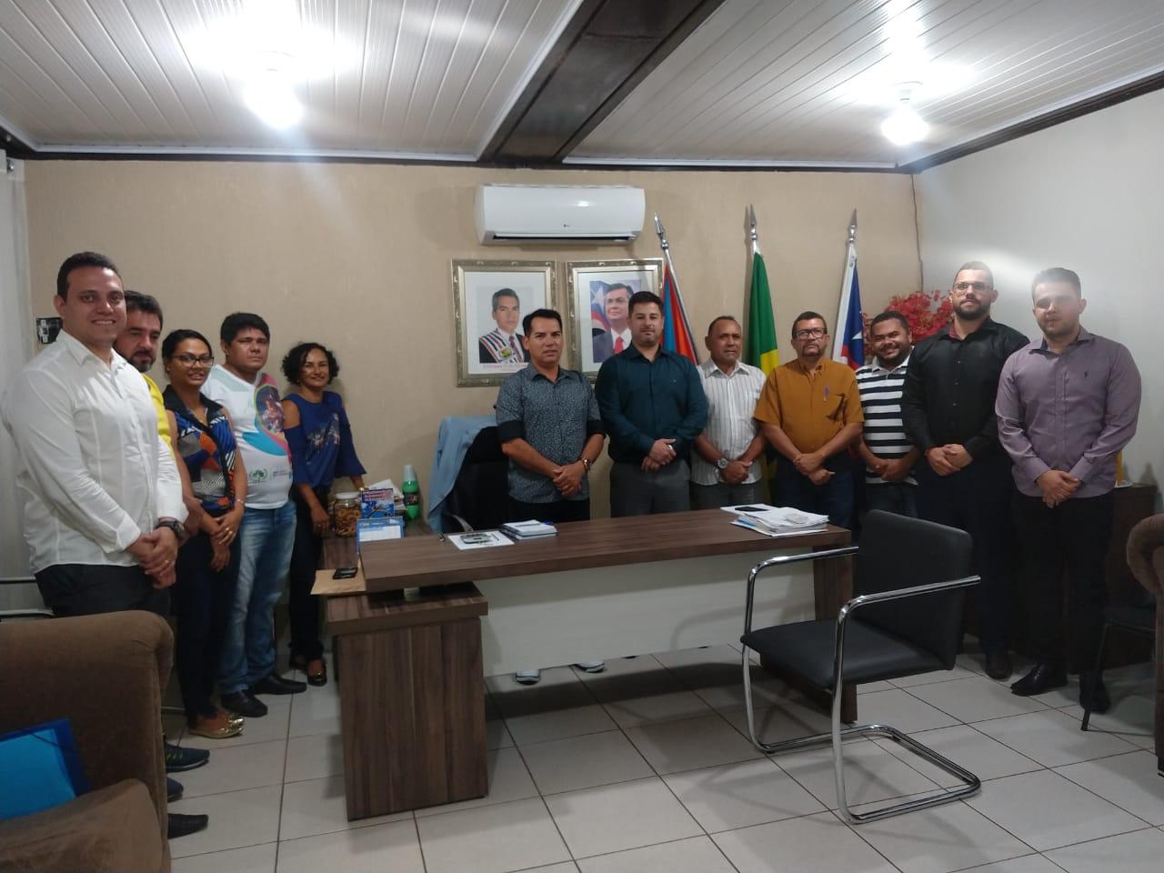 Auditores do TCE/MA visitam o município de Ribamar Fiquene  para convalidar informações