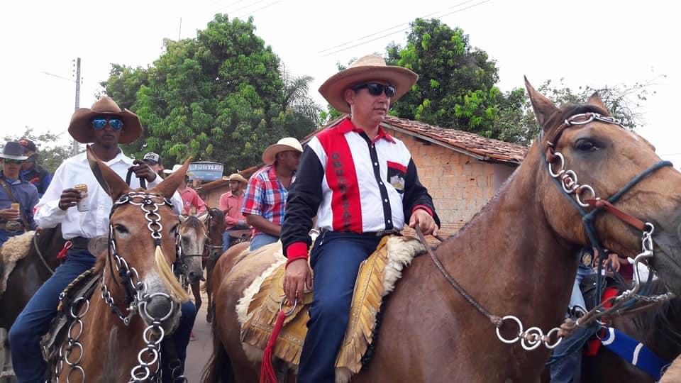 Cavaleiros e Amazonas participaram da Cavalgada de Sumaúma em Ribamar Fiquene