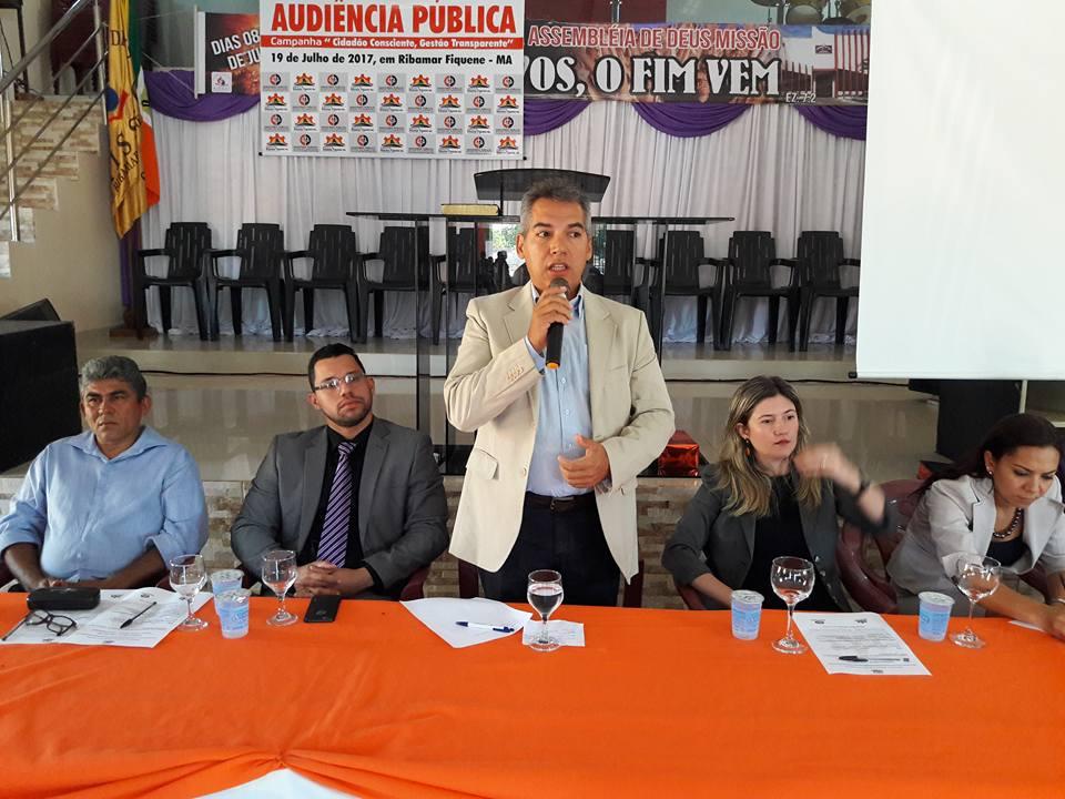 Prefeitura e MP promovem Audiência para discutir Transparência Pública