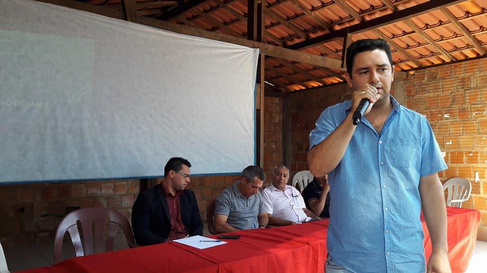Audiência Pública discute com população sobre implantação da tarifa pelo abastecimento de água em Ribamar Fiquene