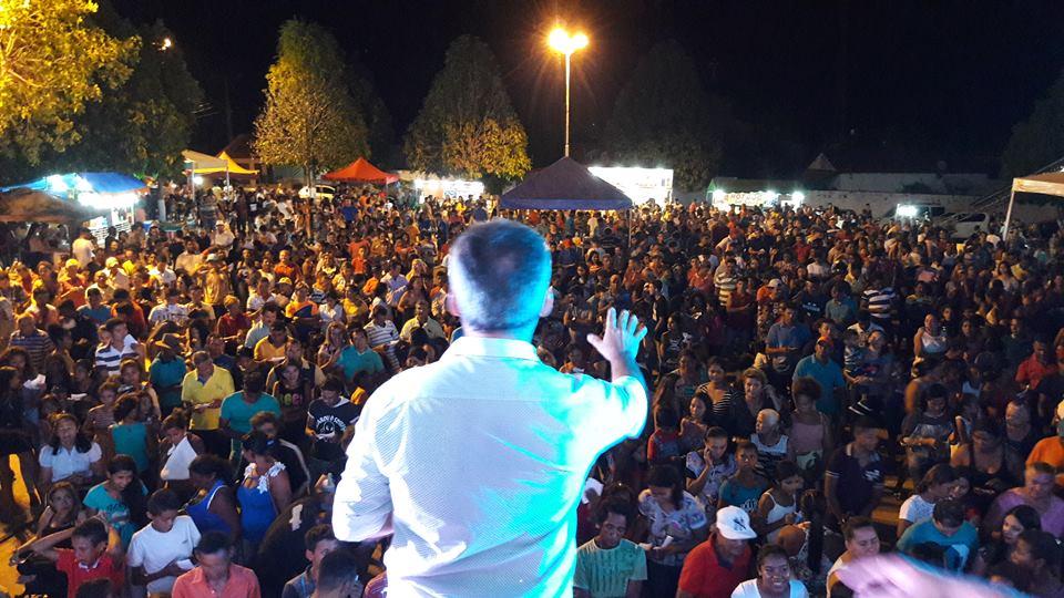 Para comemorar a data de emancipação do município  prefeitura preparou grande festa com extensa programação