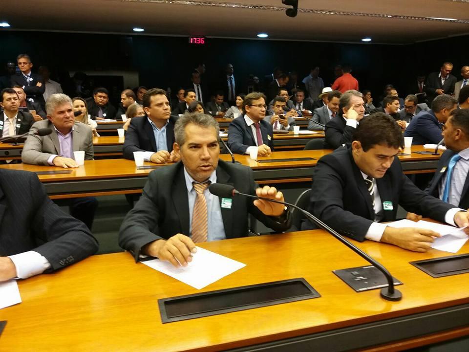 Em Brasília. Edilomar Miranda participa de reunião com a bancada Maranhense na Câmara dos Deputados